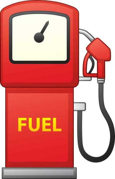 Best Gas Pump Hose Fuel Dispenser Illustrations, Royalty