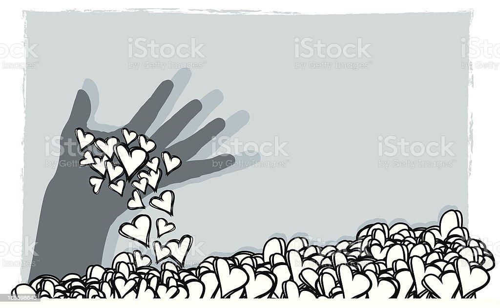 Reunión de amor ilustración de reunión de amor y más banco de imágenes de agarrar libre de derechos