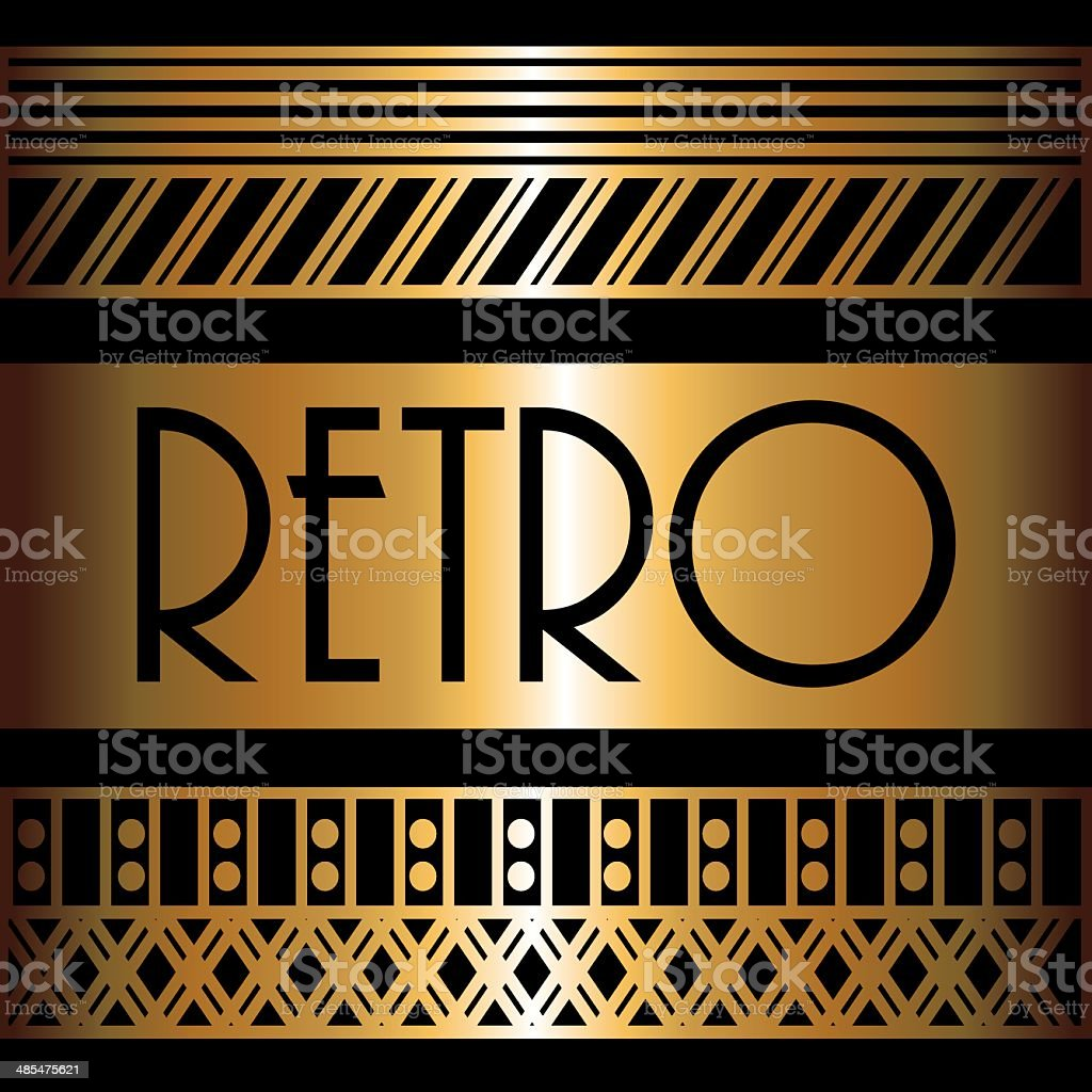 Gatsby design royalty-free gatsby design stock vector art & more images of 1920-1929