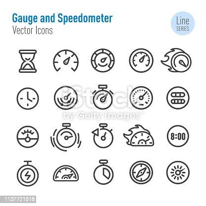Gauge, Speedometer,