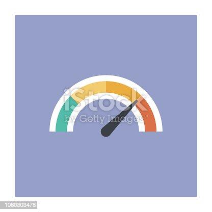istock Gauge Icon 1080303478
