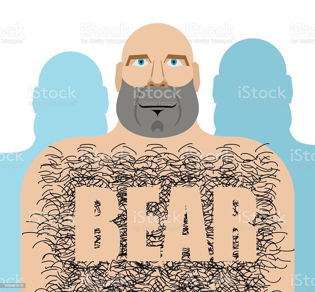 Gay bear clipart