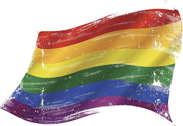 Gay Pride Flag Clip Art viewed views by people and