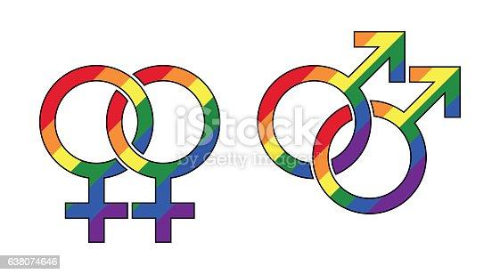does a rainbow symbol mean gay