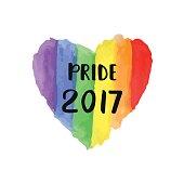 Gay Pride 2017 creative poster