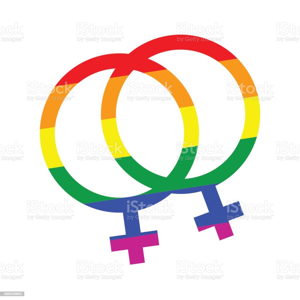 gay pride her and her symbol royalty-free gay pride her and her symbol stock vector art & more images of abstract