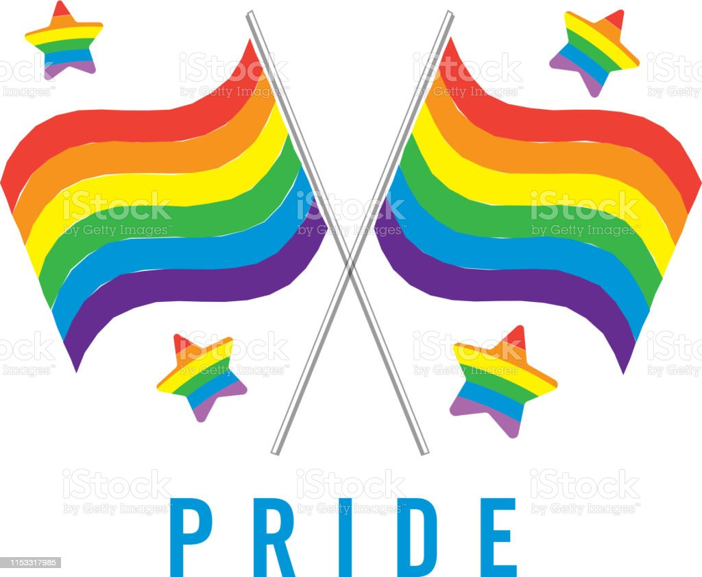Happy gay pride stock photo. Image of peace