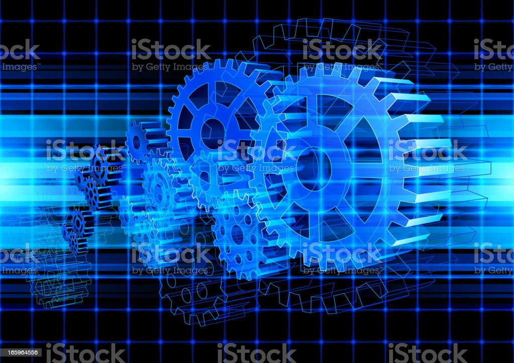 Gear Abstract Technology royalty-free gear abstract technology stock vector art & more images of abstract