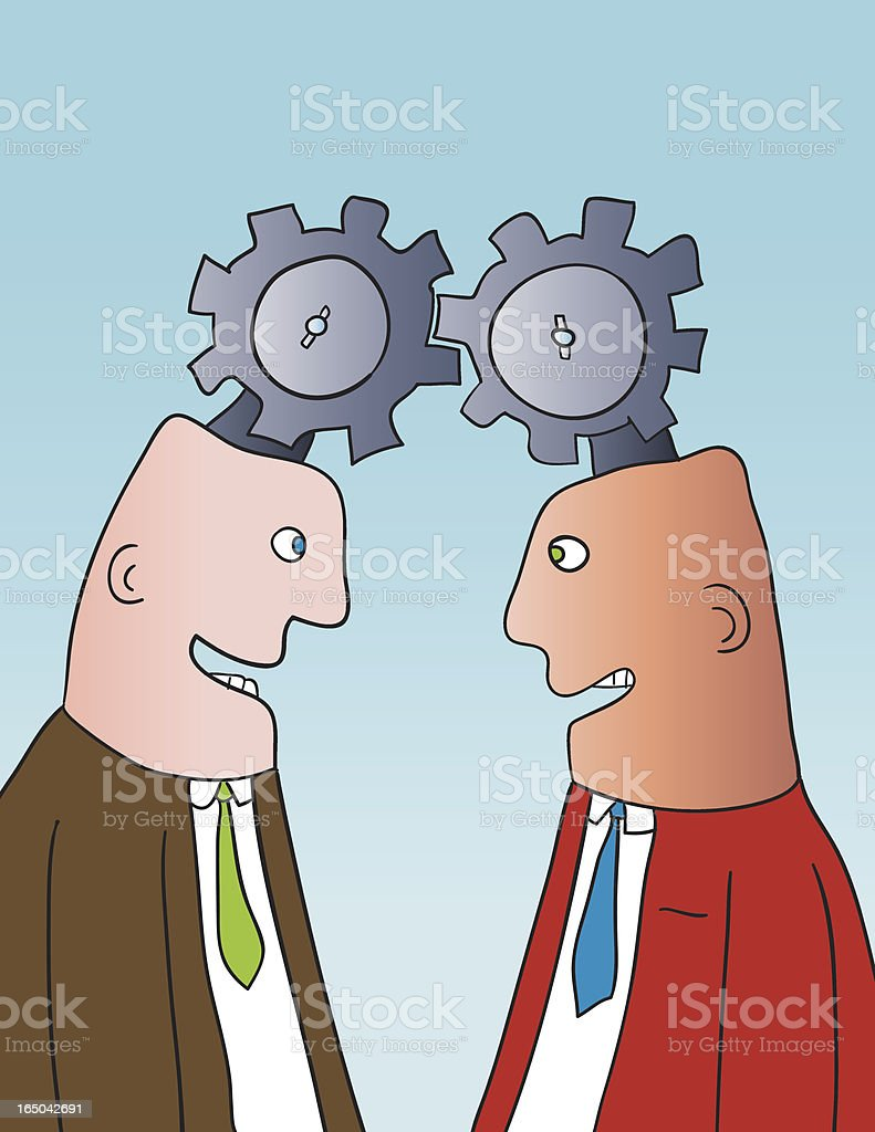 gear heads royalty-free gear heads stock vector art & more images of bonding