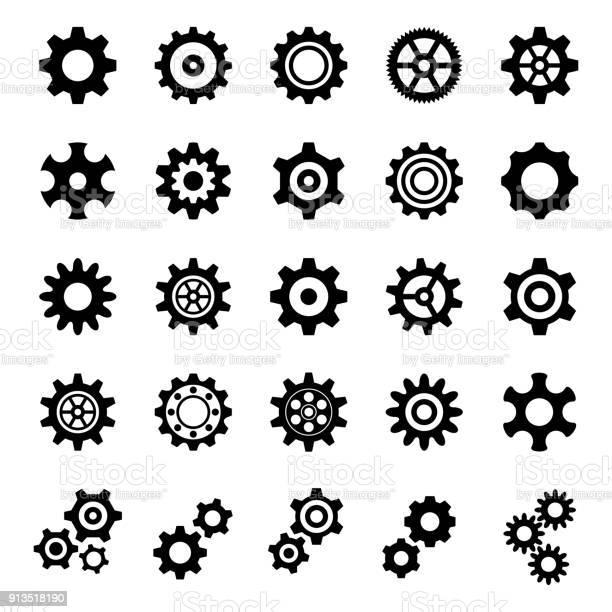 Gear Icons - Illustration