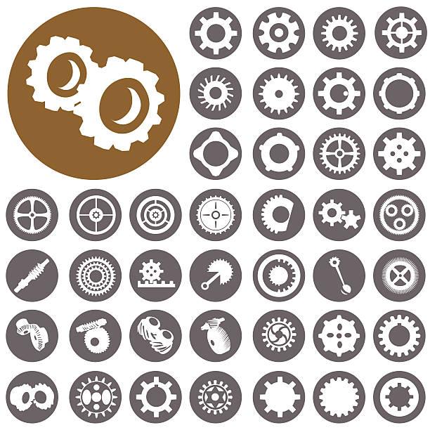 Kleidung Symbole set.  Illustration eps10 – Vektorgrafik