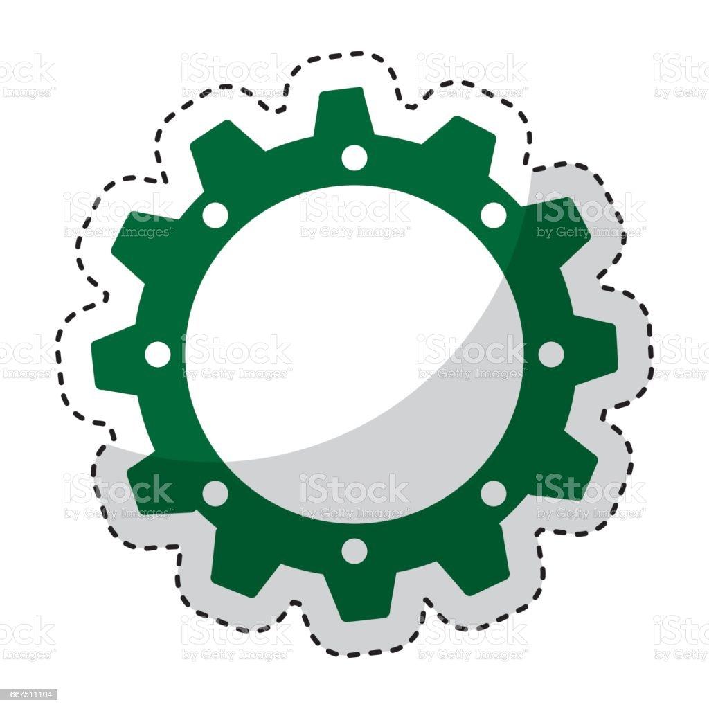 gear machine isolated icon gear machine isolated icon - immagini vettoriali stock e altre immagini di affari royalty-free