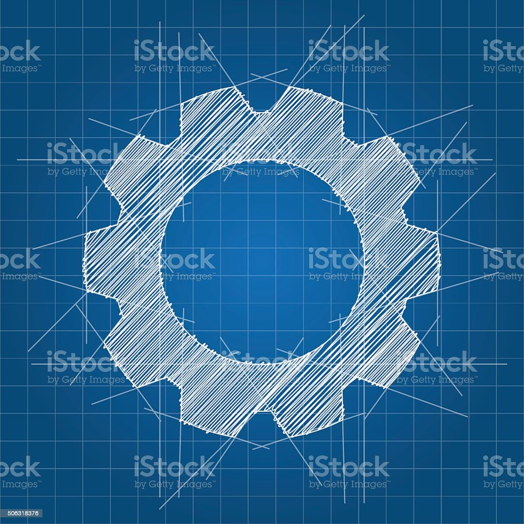 Gear sketch architectural blueprint stock vector art more images gear sketch architectural blueprint royalty free gear sketch architectural blueprint stock vector art malvernweather Image collections