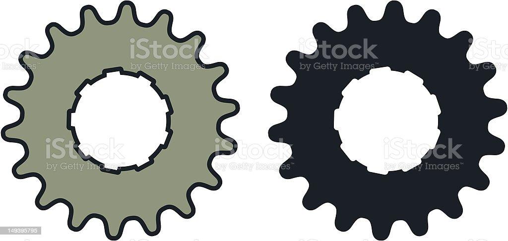 Gear royalty-free stock vector art
