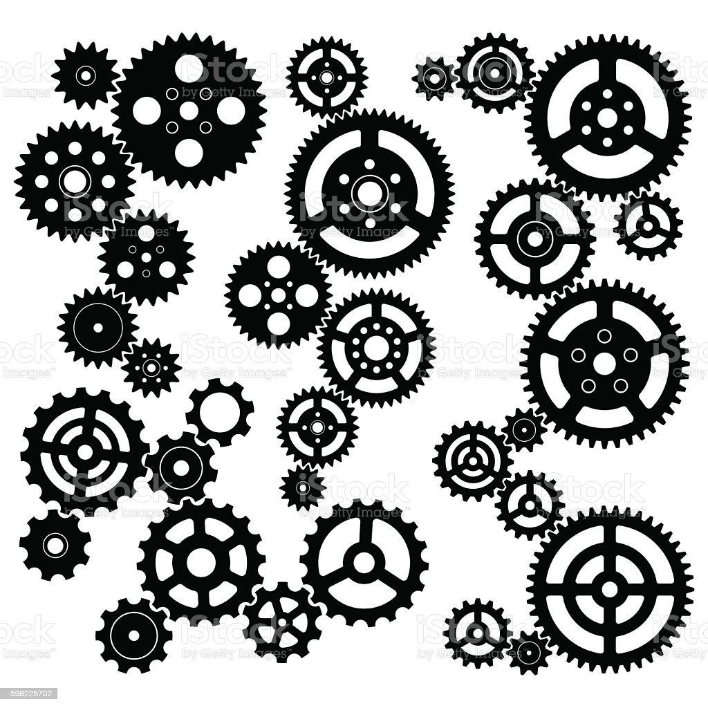 Gear Vector vector art illustration
