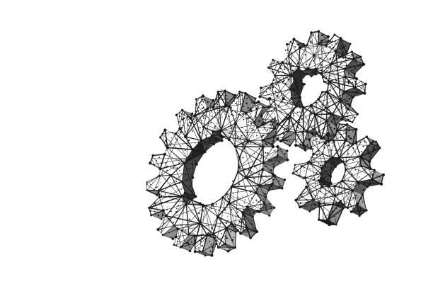 Getriebe lp bw – Vektorgrafik