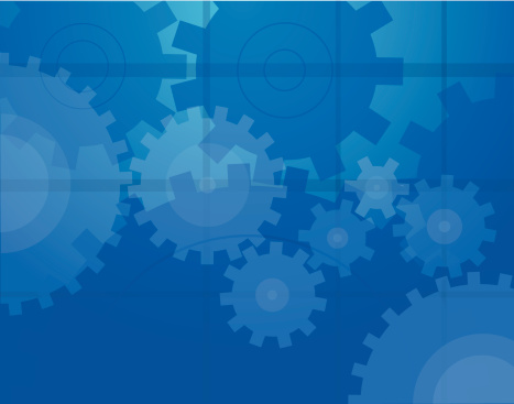 Vector illustration of an abstract gears background.