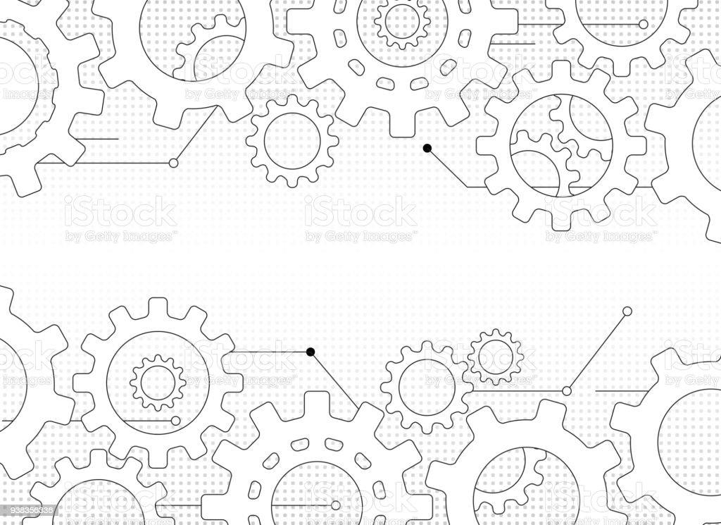 gears and cogs - Grafika wektorowa royalty-free (Abstrakcja)