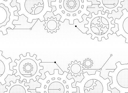 Gears And Cogs - Stockowe grafiki wektorowe i więcej obrazów Abstrakcja