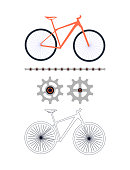 Cycling, Bicycle, Cycle - Vehicle, Vector