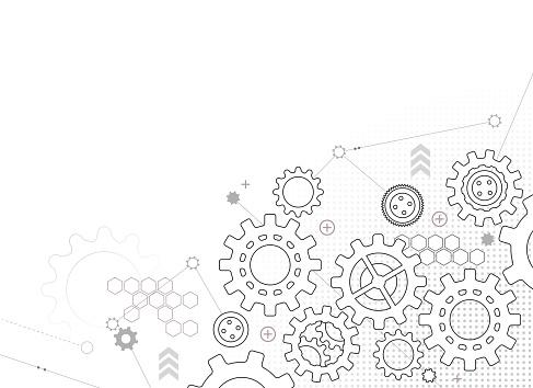gears design background