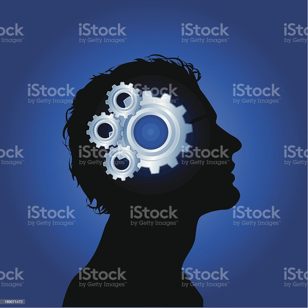 Gears of mind royalty-free gears of mind stock vector art & more images of activity