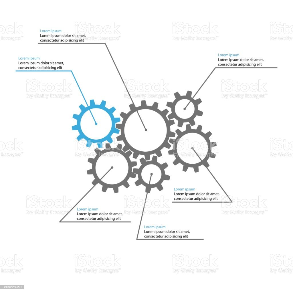 gears presentation template