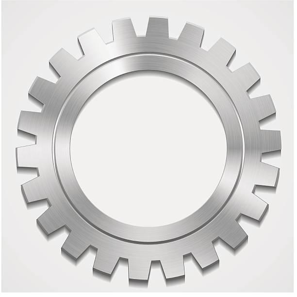 gears vec vector art illustration