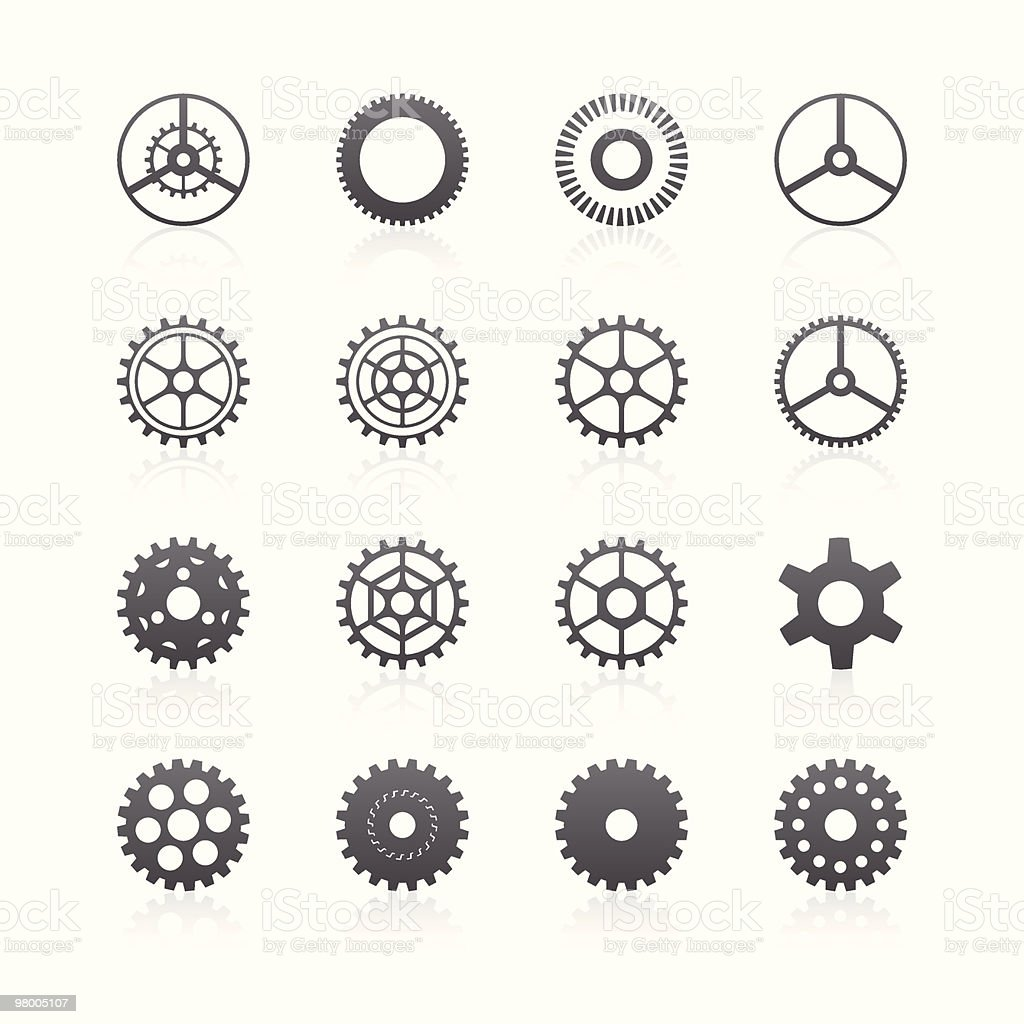 Gears royalty-free gears stock vector art & more images of abstract