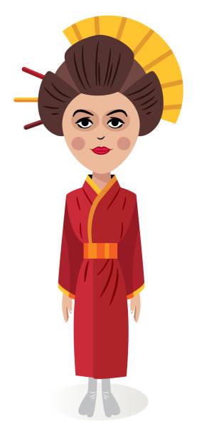藝妓 - hiroshima 幅插畫檔、美工圖案、卡通及圖標