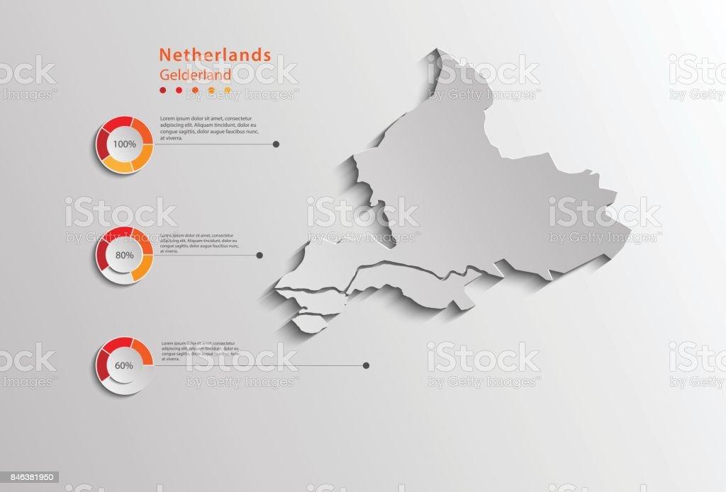 Gelderland Province Map Province Netherlands Province Map For