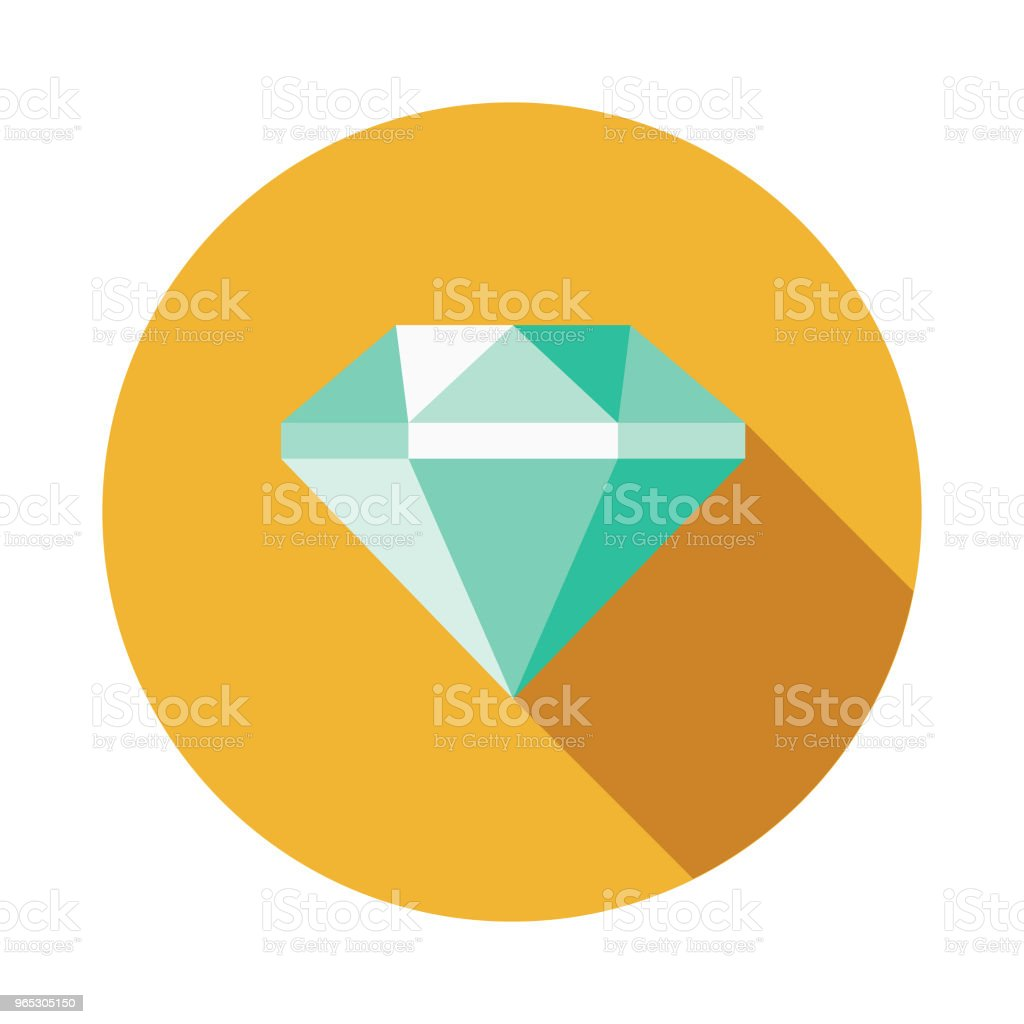 Gemstone Flat Design Fantasy Icon royalty-free gemstone flat design fantasy icon stock vector art & more images of adventure