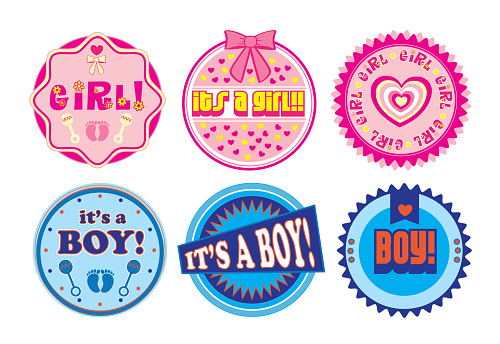 Gender Reveal Party Icon