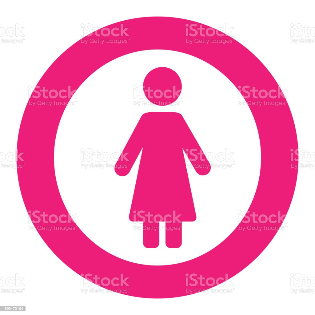 Gender Symbol Set Male Female Girl Boy Woman Man Vector Icon Stock