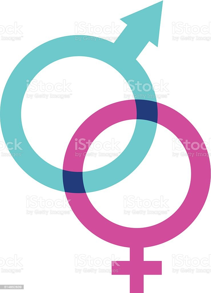 Gender Symbol vector art illustration