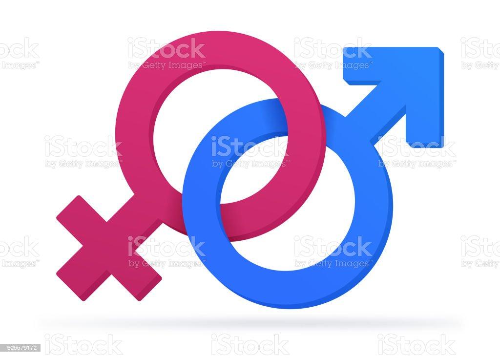 Gender Symbols Stock Vector Art & More Images Of Adult