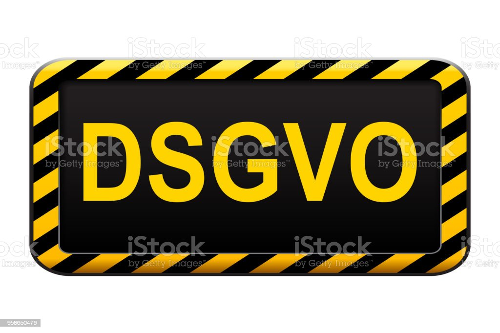 General Data Protection Regulation In German Datenschutz