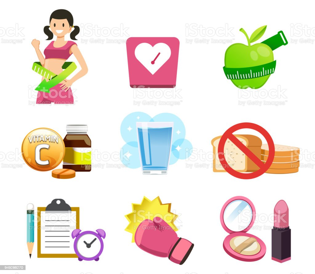 General Exercise Instructions For Women Stock Illustration Download Image Now Istock