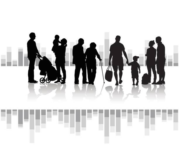 Generationen – Vektorgrafik