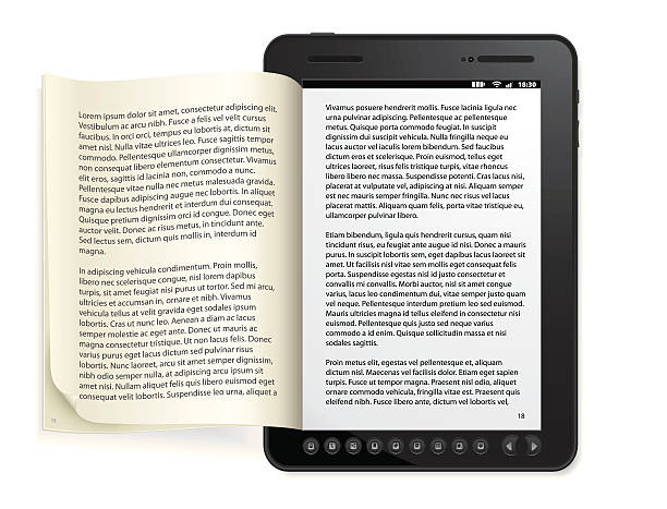 Generic e-book Reader Concept http://www.appwitch.com/cagri/tech.png e reader stock illustrations