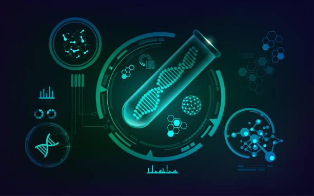 遺伝子組み換え - 生物学点のイラスト素材/クリップアート素材/マンガ素材/アイコン素材