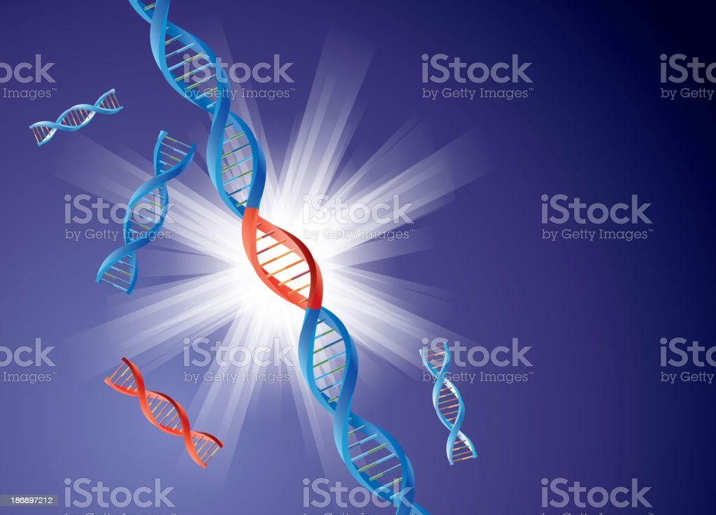 Genetically modified royalty-free stock vector art