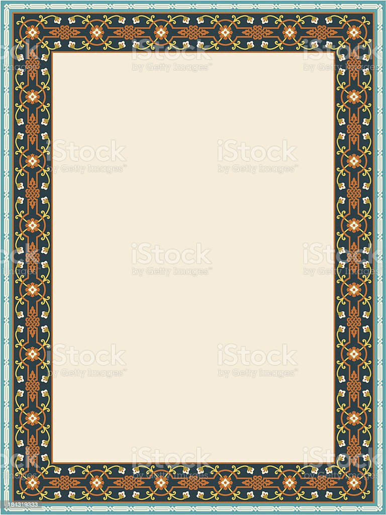 Genoa Classic Frame Two royalty-free genoa classic frame two stock vector art & more images of antique
