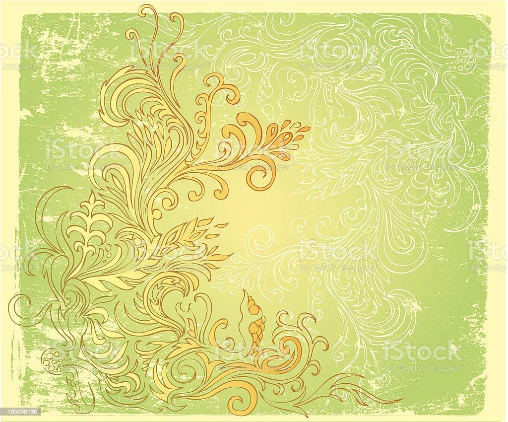 gentle flora design royalty-free stock vector art