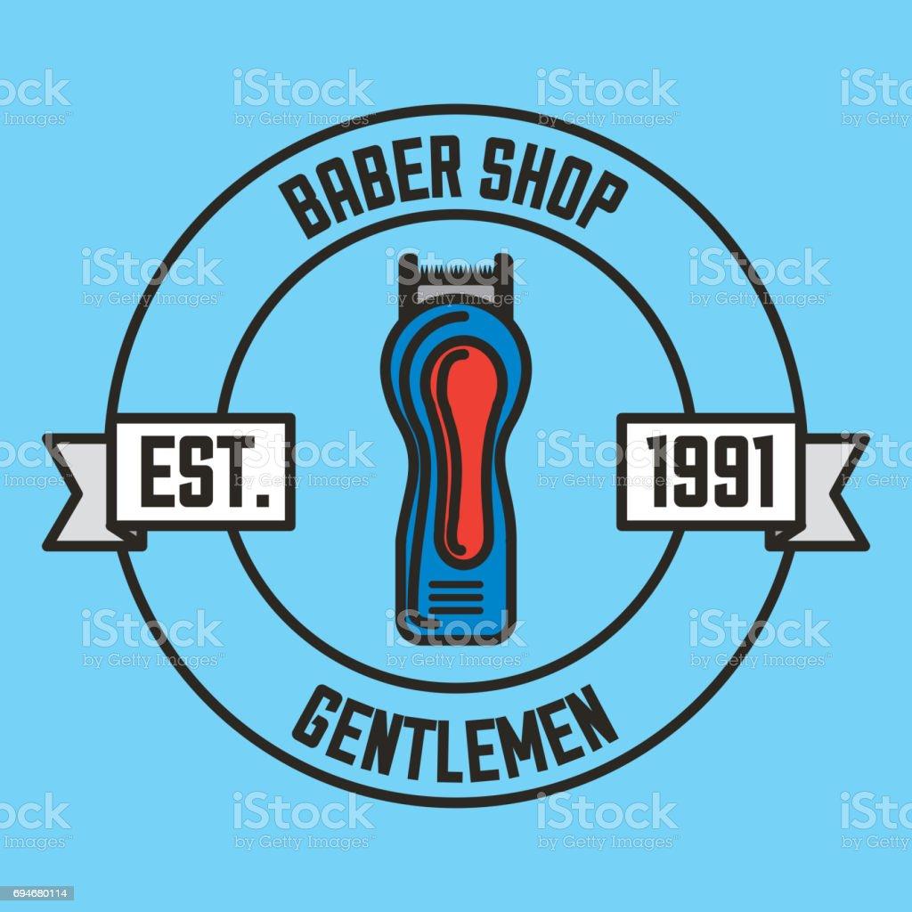 gentleman barber shop illustration vector art illustration