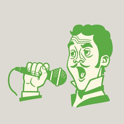 Gentleman Singing