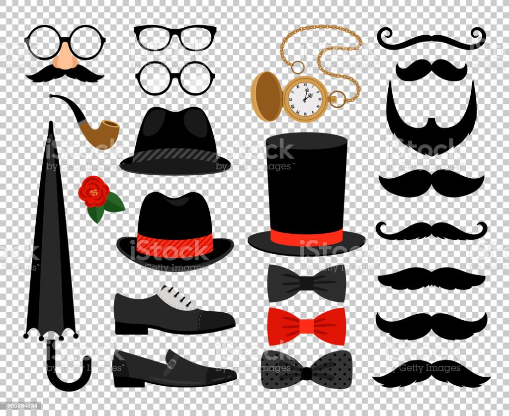 Gentleman vintage accessories royalty-free gentleman vintage accessories stock vector art & more images of backgrounds