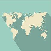 geographic design over blue background vector illustration