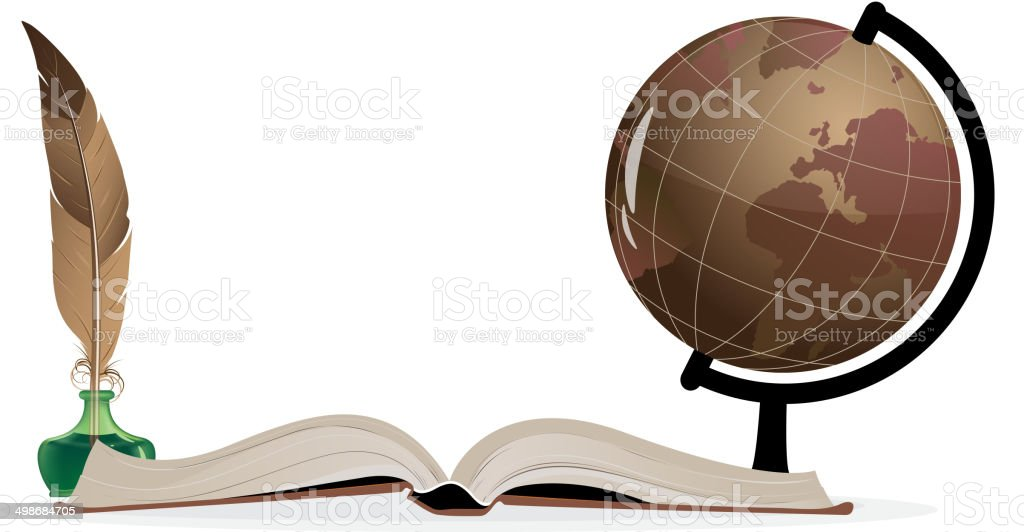 Geografie – Vektorgrafik