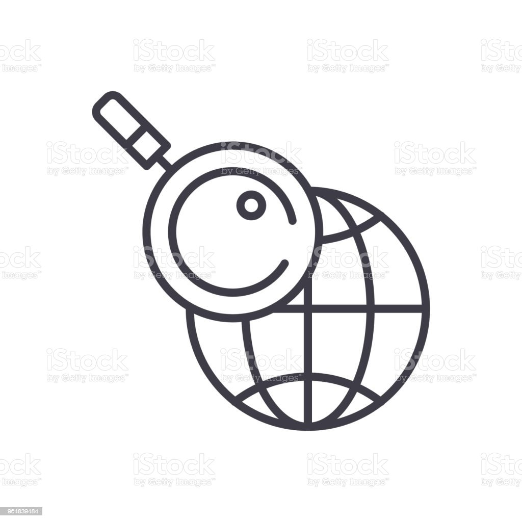 Geolocationing black icon concept. Geolocationing flat  vector symbol, sign, illustration. royalty-free geolocationing black icon concept geolocationing flat vector symbol sign illustration stock vector art & more images of accuracy
